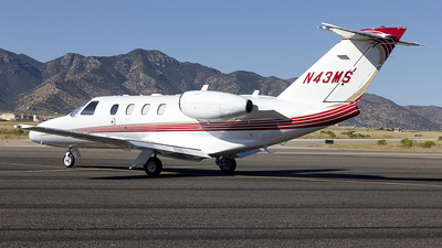 N43MS - Cessna 525 Citationjet CJ1 - Private