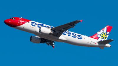 A picture of HBJJL - Airbus A320214 - Edelweiss Air - © Pablo Gonzalez de Leon