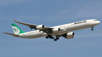 EP-MMF - Airbus A340-642 - Mahan Air