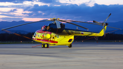 RA-22224 - Mil Mi-8AMT Hip - NAMS - National Air Medical Service (NSSA)
