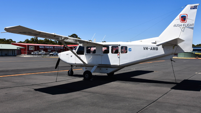 VH-AMB - Gippsland GA-8 Airvan - Bush Flight