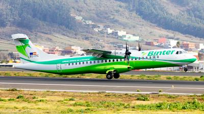 EC-IYC - ATR 72-212A(500) - Binter Canarias (Canarias Airlines)