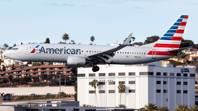 A picture of N951AA - Boeing 737823 - American Airlines - © Manuel Mueller