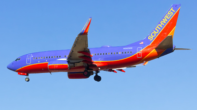 A picture of N245WN - Boeing 7377H4 - Southwest Airlines - © Matthew Scott