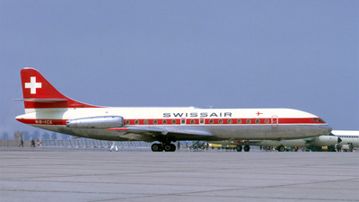HB-ICX - Sud Aviation SE 210 Caravelle III - Swissair