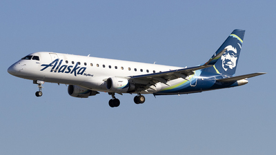 A picture of N191SY - Embraer E175LR - Alaska Airlines - © Jeremy D. Dando