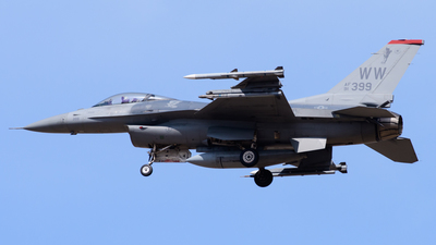 91-0399 - General Dynamics F-16CJ Fighting Falcon - United States - US Air Force (USAF)