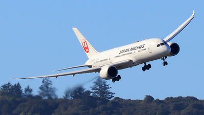 JA845J - Boeing 787-8 Dreamliner - Japan Airlines (JAL)