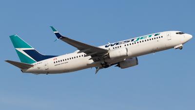 A picture of CFWIJ - Boeing 7378CT - WestJet - © Shon F