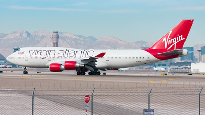 G-VLIP - Boeing 747-443 - Virgin Atlantic Airways