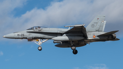 C.15-39 - McDonnell Douglas EF-18M Hornet - Spain - Air Force