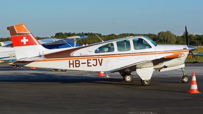 HB-EJV - Beechcraft 35-33 Debonair - Private