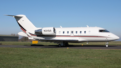 N211QS - Bombardier CL-600-2B16 Challenger 650 - NetJets Aviation