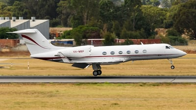 A picture of VHMBP - Gulfstream G450 - [4185] - © Andrew Lesty
