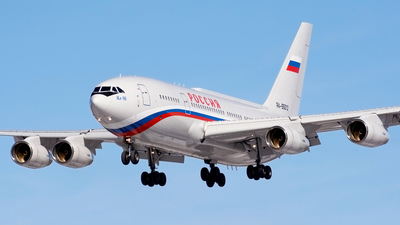 RA-96012 - Ilyushin IL-96-300PU - Rossiya - Special Flight Squadron
