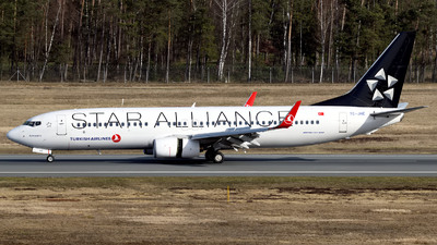 A picture of TCJHE - Boeing 7378F2 - Turkish Airlines - © Günther Feniuk