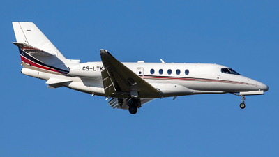 CS-LTK - Cessna Citation Latitude - NetJets Europe