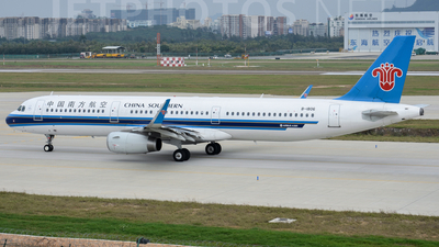 B-1806 - Airbus A321-231 - China Southern Airlines