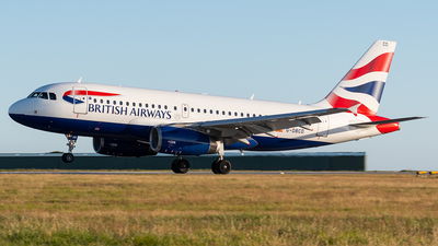 A picture of GDBCD - Airbus A319131 - British Airways - © Thomas Masterman