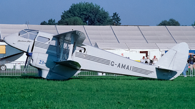 G-AMAI - De Havilland DH-89A Dragon Rapide - Private
