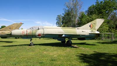 821 - Mikoyan-Gurevich MiG-21PFM Fishbed - German Democratic Republic - Air Force