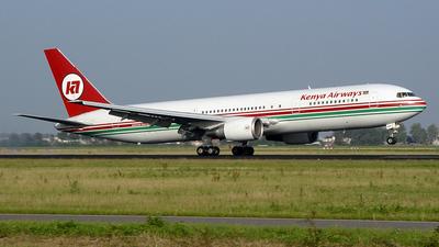 5Y-KQW - Boeing 767-3Y0(ER) - Kenya Airways