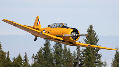 C-FVYF - North American T-6G Harvard 4 - Private