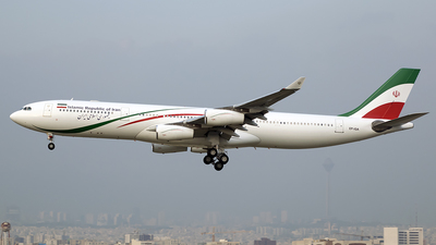 EP-IGA - Airbus A340-313X - Iran - Government