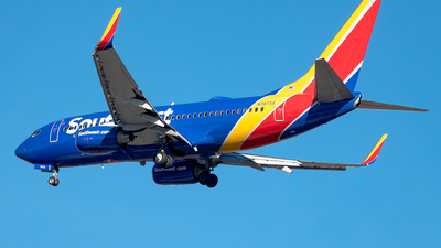 A picture of N7875A - Boeing 7377Q8 - Southwest Airlines - © Yan777