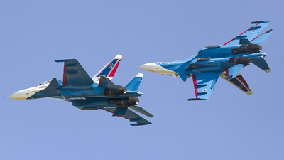 RF-81705 - Sukhoi Su-30SM - Russia - Air Force
