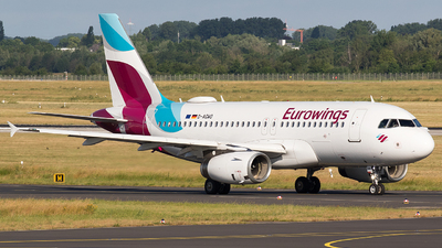 A picture of DAGWO - Airbus A319132 - Eurowings - © BennyH