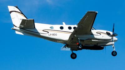 LV-BDG - Beechcraft C90B King Air - Private