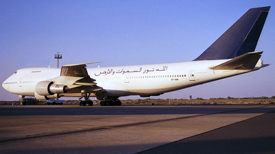ST-AQN - Boeing 747-246B - Spirit of Africa Airlines
