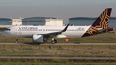 F-WWIF - Airbus A320-251N - Vistara