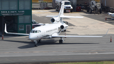 N754MM - Dassault Falcon 900 - Private