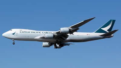 B-LJJ - Boeing 747-867F - Cathay Pacific Cargo