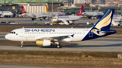 A picture of TCJUD - Airbus A319132 - [2452] - © Ömür Sadikoglu