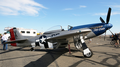 N5460V - North American P-51D Mustang - California Warbirds