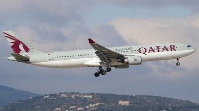 A7-AEO - Airbus A330-302 - Qatar Airways
