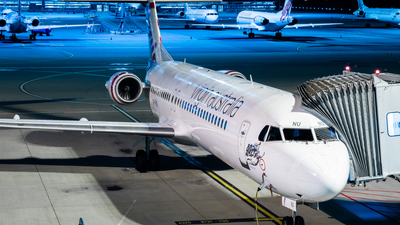 A picture of VHFNU - Fokker 100 - Virgin Australia - © Daniel Kotronis
