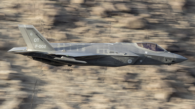 F-002 - Lockheed Martin F-35A Lightning II - Netherlands - Royal Air Force