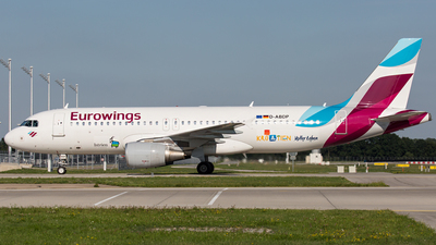 D-ABDP - Airbus A320-214 - Eurowings