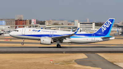 A picture of JA219A - Airbus A320271N - All Nippon Airways - © Tsumugu Ono