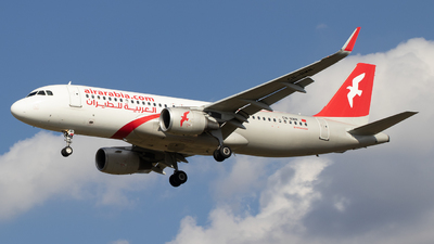 CN-NMN - Airbus A320-214 - Air Arabia Maroc