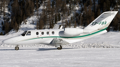 T7-FRA - Cessna 525 CitationJet 1 Plus - Private