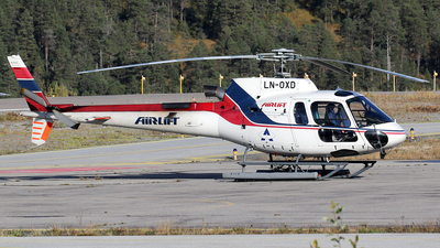 LN-OXD - Aérospatiale AS 350B3 Ecureuil - Airlift