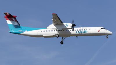 A picture of LXLGG - De Havilland Canada Dash 8400 - Luxair - © RAFAL KUKOWSKI