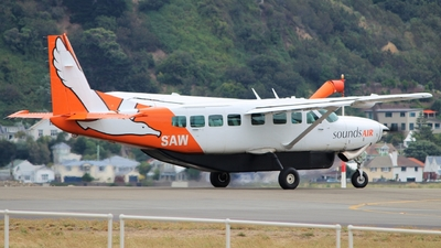 ZK-SAW - Cessna 208B Grand Caravan - Sounds Air