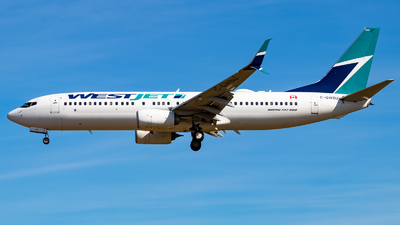 A picture of CGWBU - Boeing 7378CT - WestJet - © Grant Gladych