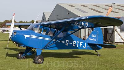 A picture of GBTFJ - Piper PA15 Vagabond - [15159] - © Glynn Farrar